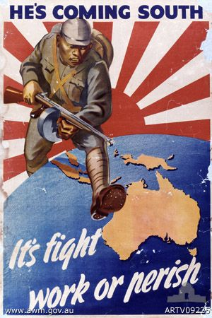 Information on Propagana Art in Australia?