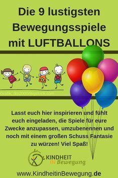Photo of Die 9 lustigsten Bewegungsspiele mit Luftballons. Ob Flugballon, Reise nach Jeru …