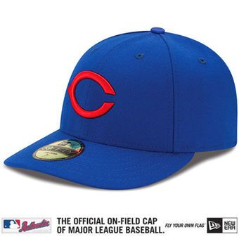 sports shoes 33f0a 8f66e Men s Chicago Cubs New Era Royal Low Crown Authentic Collection On-Field  1945 Turn Back the Clock 59FIFTY Performance Fitted Hat