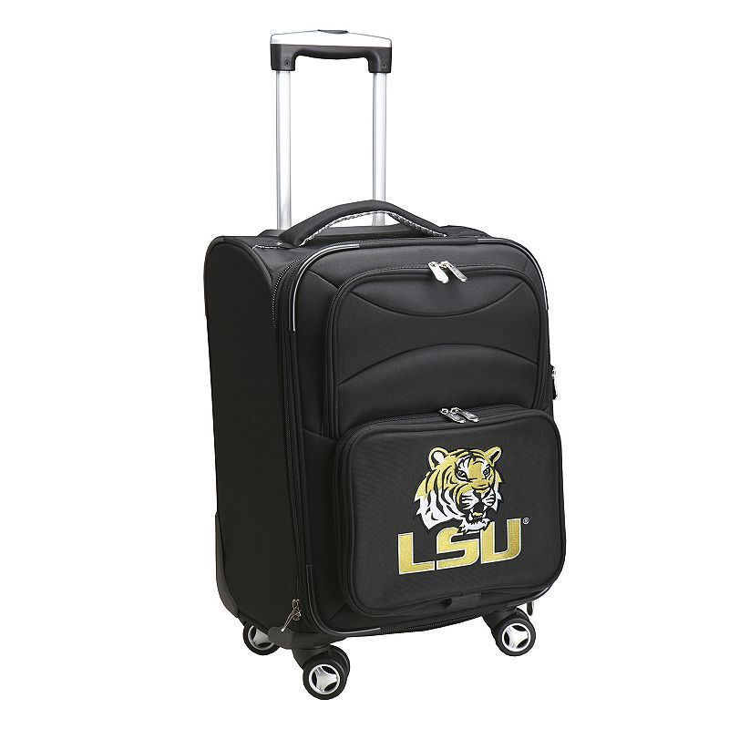 LSU Tigers 20-in. Expandable Spinner Carry-On, Black