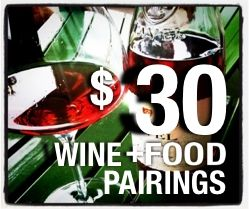 $30 Wine+Food Pairings - Each episode shows you how to make a tasty wine and food dish for two people all for under thirty bucks.  It shows you don't need to spend a lot to eat and drink well.
