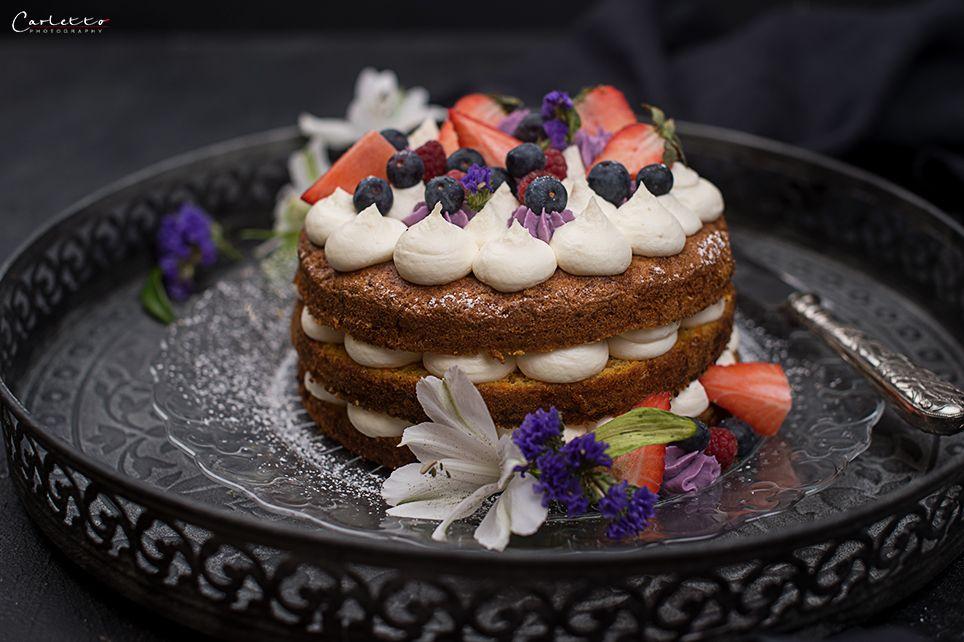 Naked Cake Ohne Fondant Karottentorte Mascarponecreme