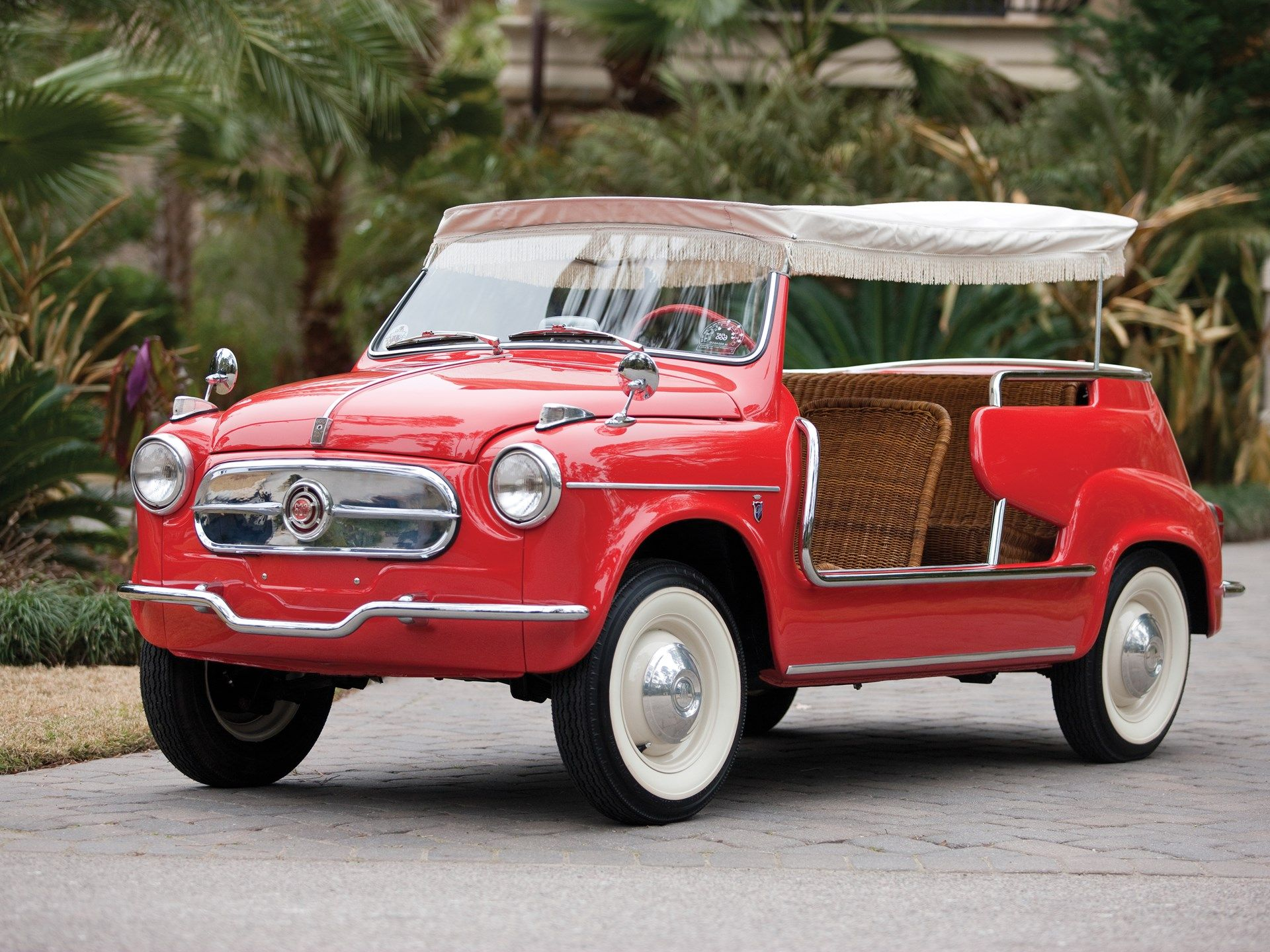 Car Crush The Fiat Jolly With Images Fiat 600 Fiat Car