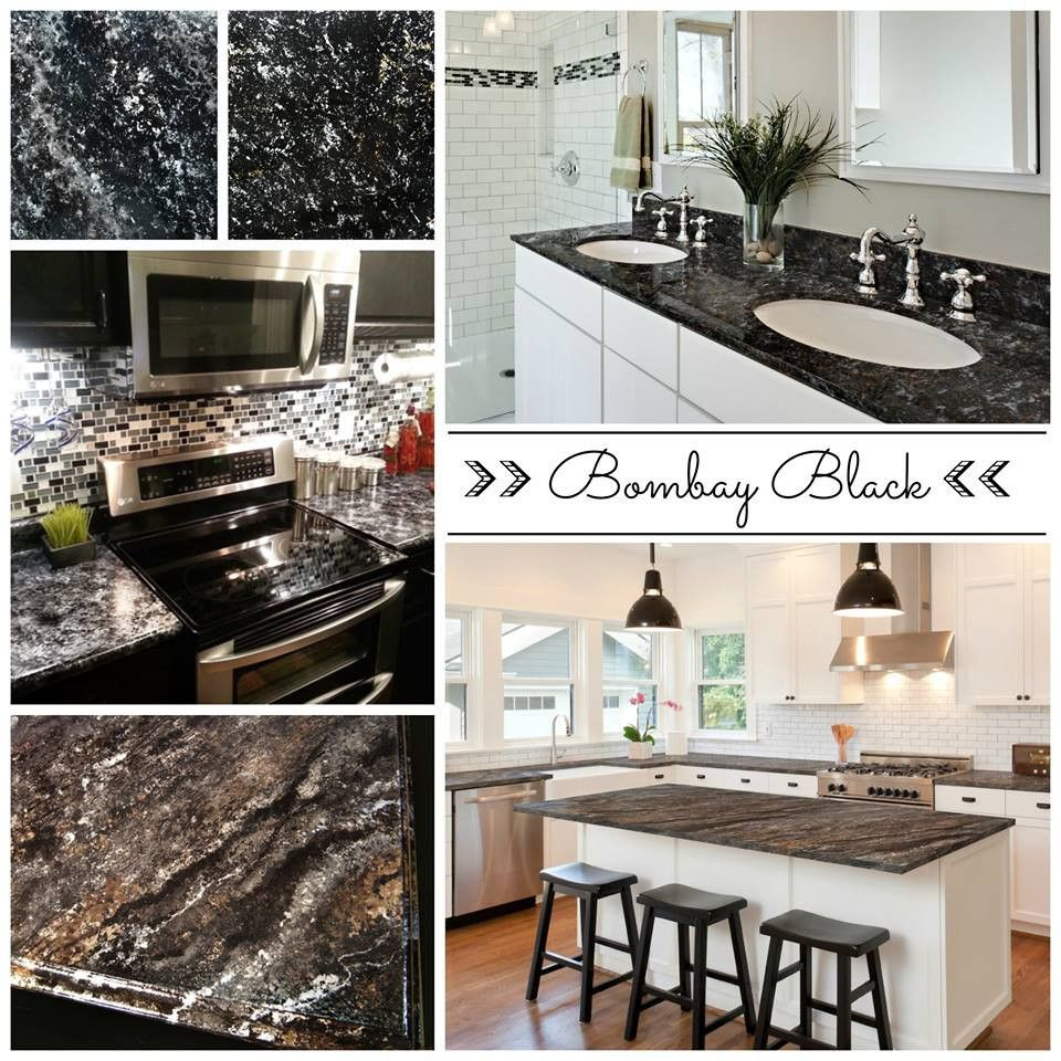 Shh.. it\'s not granite, it\'s PAINT! Easy & affordable DIY countertop ...