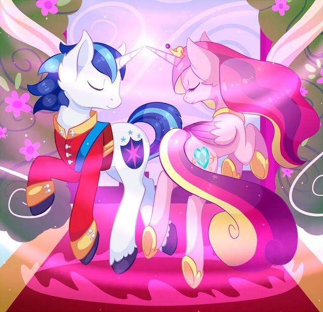 Shining Armor and Princess Cadence wedding | MLP (art) | My