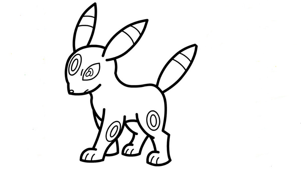 Pokemon Coloring Pages Umbreon Tips