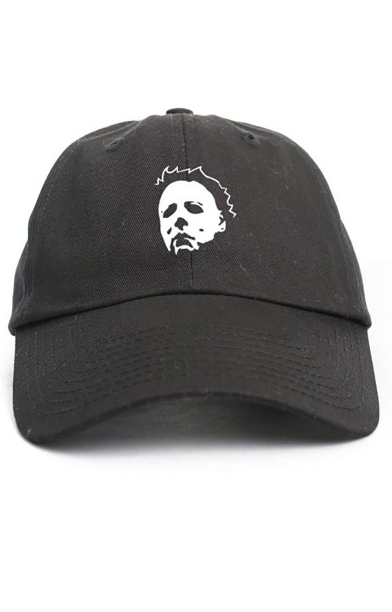 ce21fa6963b Myers Halloween Custom Dad Hat Adjustable Baseball Cap Choose Your Color!  Free Ship!
