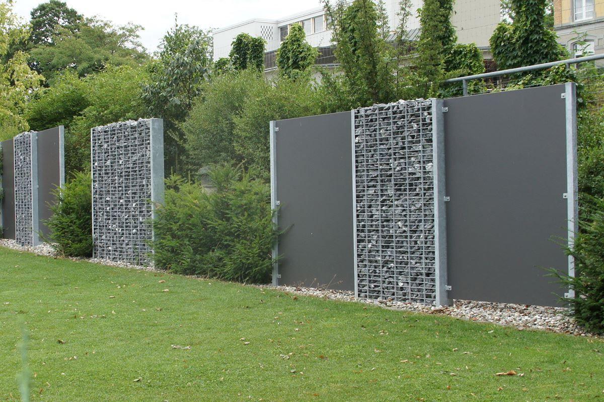 Bild Von Gittersteinwand Kombinationen Aussenbrunnen Gartengestaltung Garten