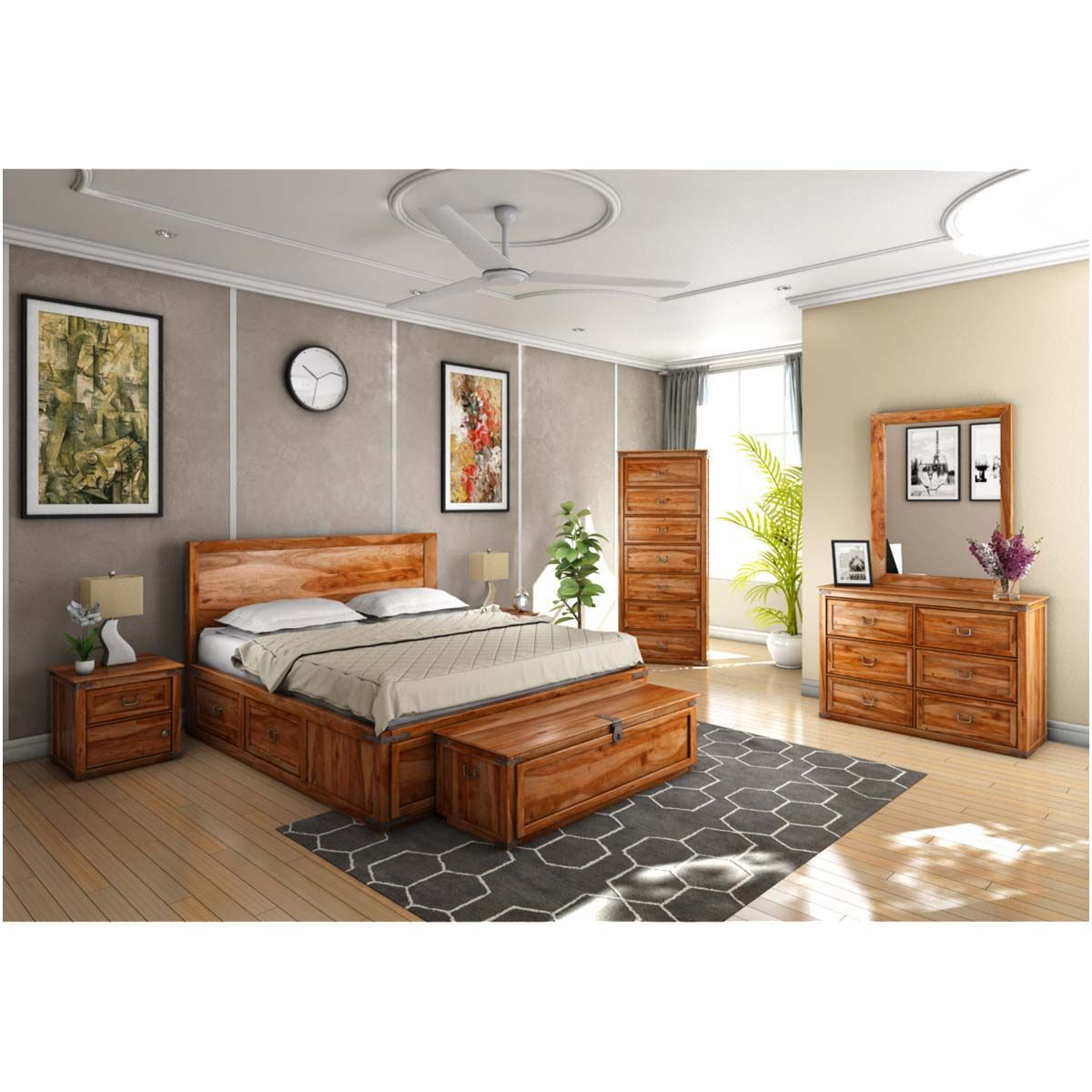 Shaker 7 Piece Bedroom Collection