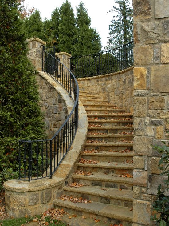 Best Exterior Wrought Iron Stair Railings Design Pictures 400 x 300
