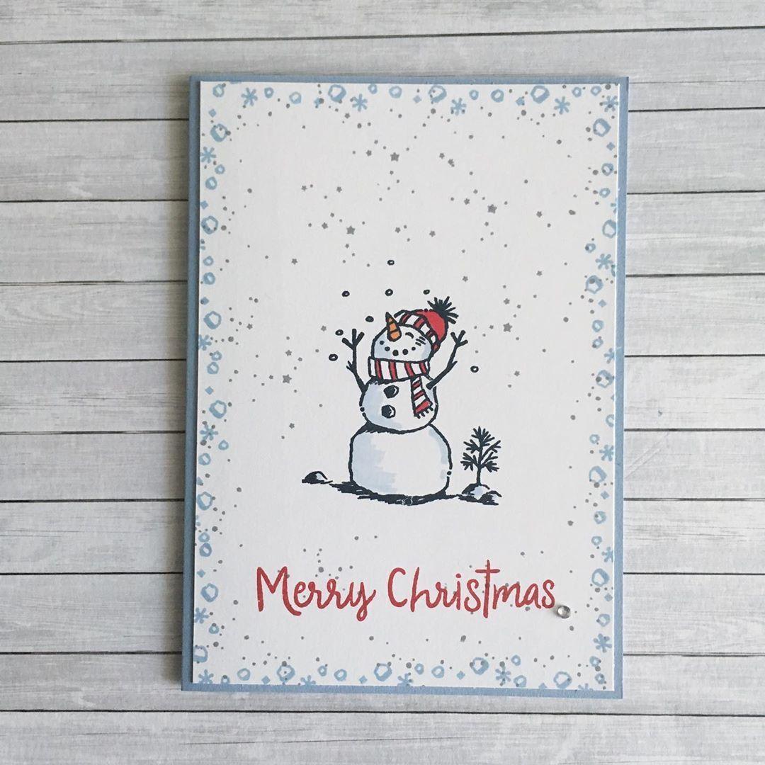 """Susanne on Instagram: """"Zur Abkühlung gibt es heute einen kleinen Schneemann...️️�� mal schauen, was dieser bei über 30 grad ausrichten kann...� Verwendet habe…"""""""