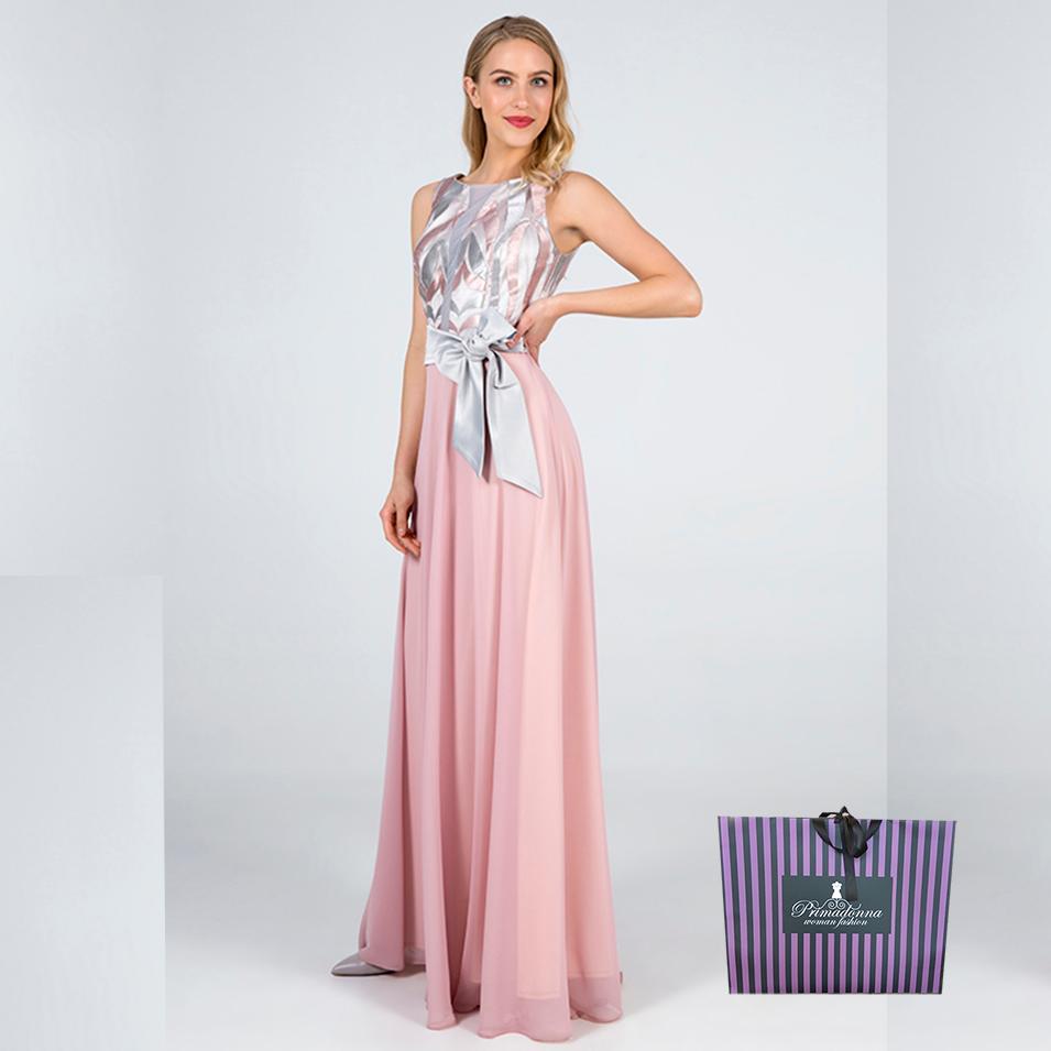 fff7b2a1b5a0  Maxi φόρεμα Angelo με διαφάνεια στο μπούστο. Ένα εντυπωσιακό και αέρινο  φόρεμα που είναι αμάνικο και