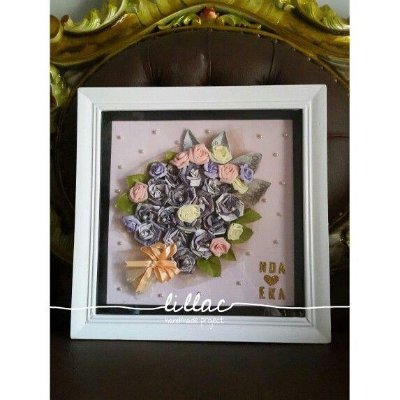 Mahar Uang Bentuk Buket Bunga Made By Me