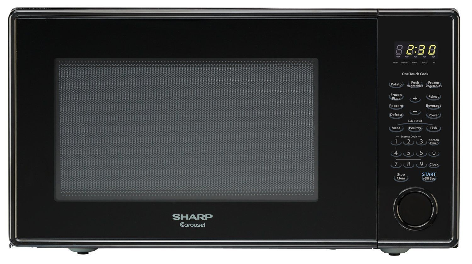 Sharp Countertop Microwave Oven Zr309yk 1 1 Cu Ft 1000w Black