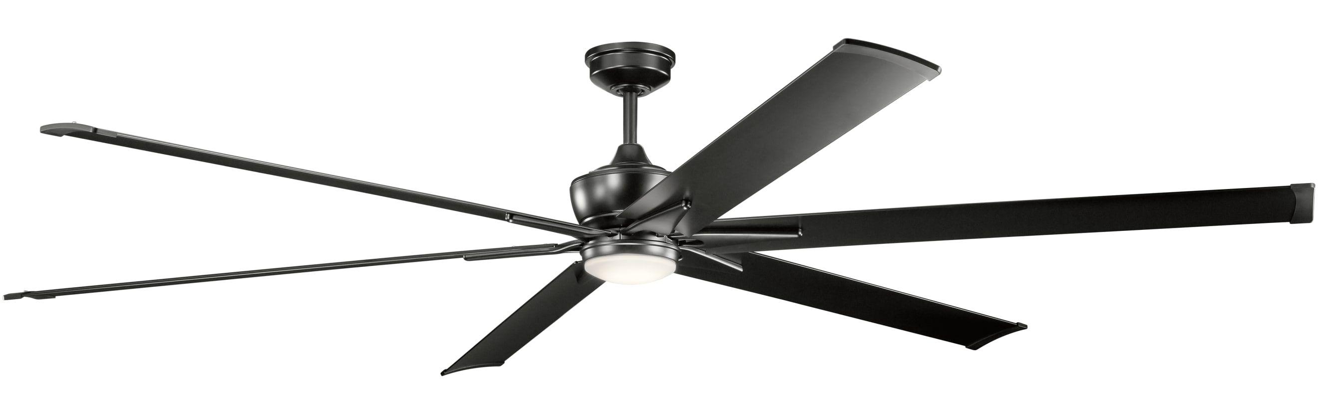 """Kichler Szeplo II 96"""" Indoor Outdoor Ceiling Fan with"""