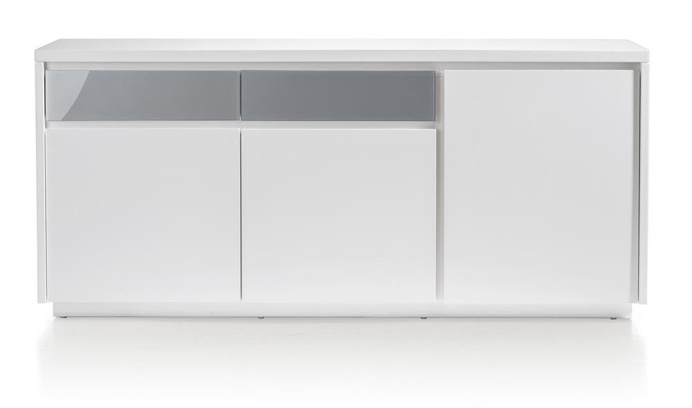 Floriano, dressoir 3-deuren + 2-laden 180 cm