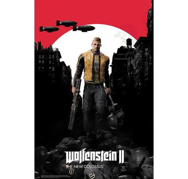 Wolfenstein 2 Poster The New