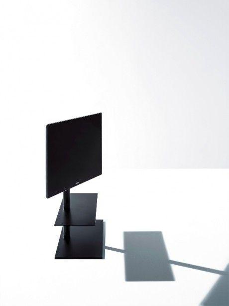 Porta Tv Totem.Un Totem Minimale Porta Tv Design Design Inspiration