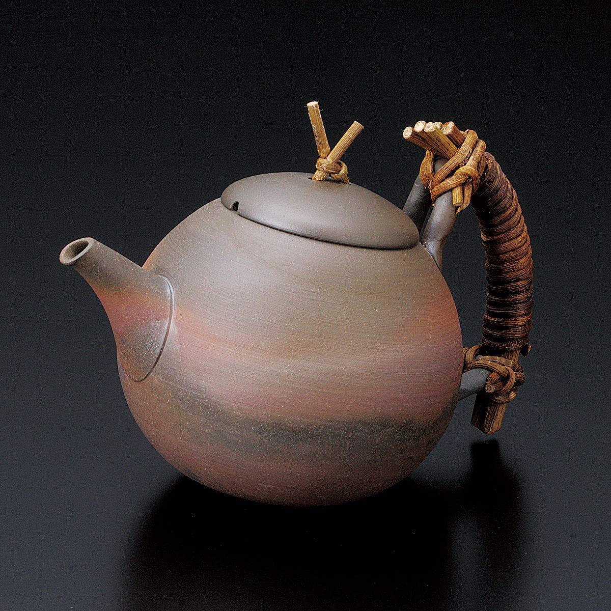 [Premium] Tokoname Pottery : SEIJI ITO - Japanese Kyusu tea pot 450cc Ceramic fine mesh net #teapots