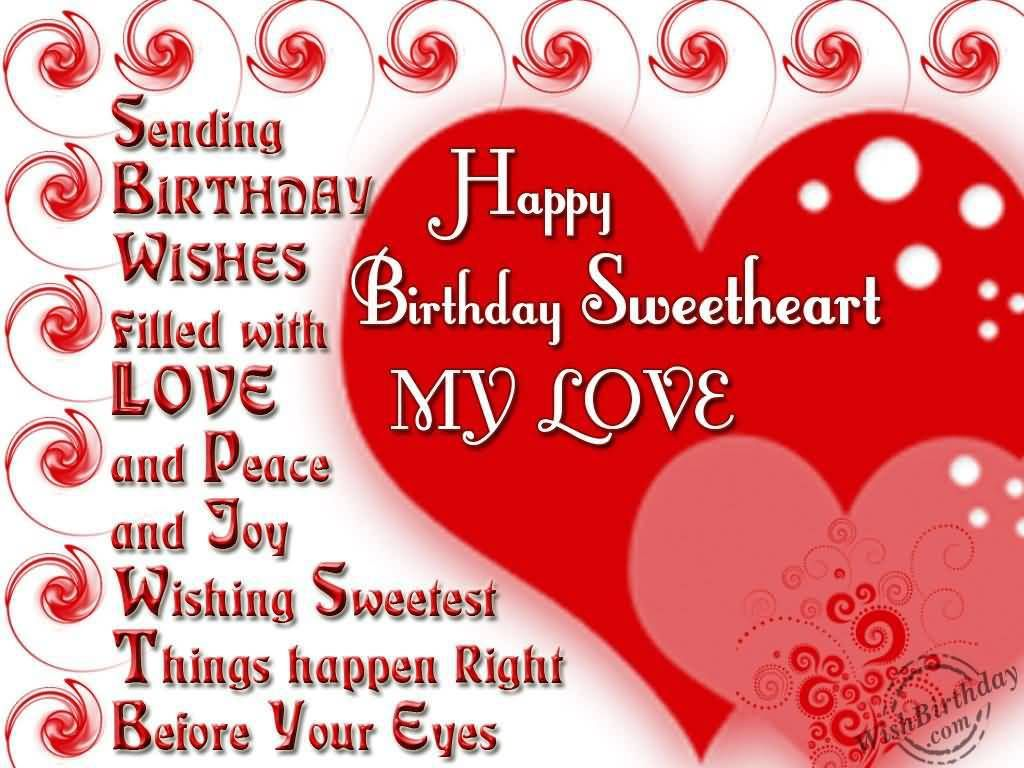 Birthday Messages For Girlfriend Images Happy Birthday Wishes
