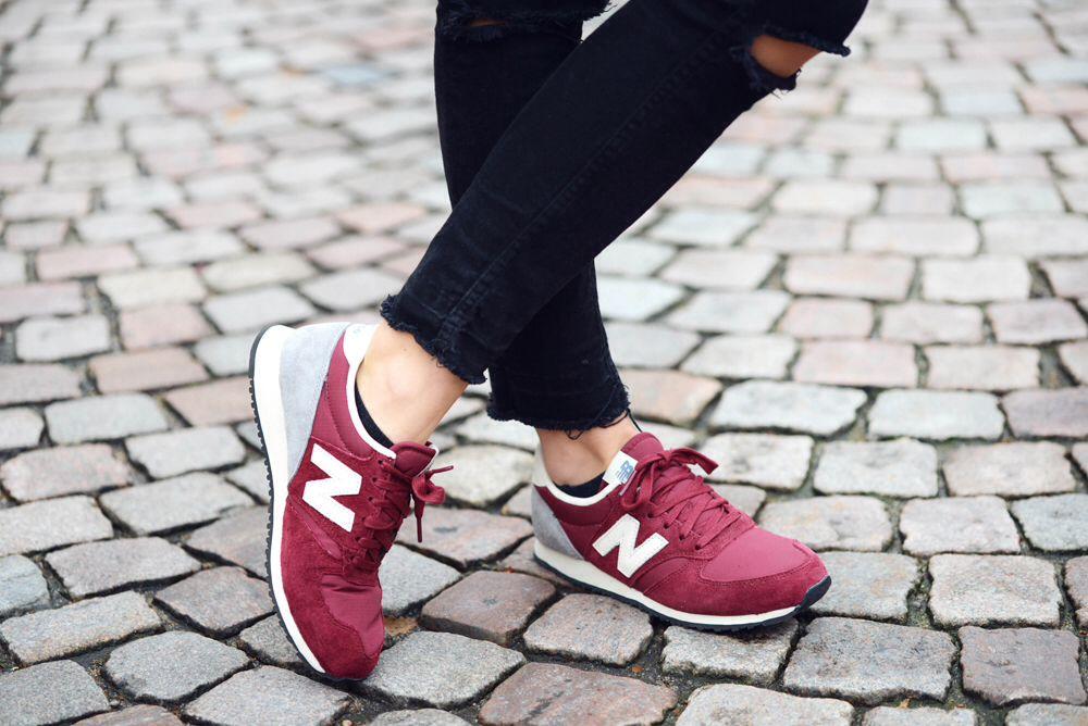 new balance 420 red womens