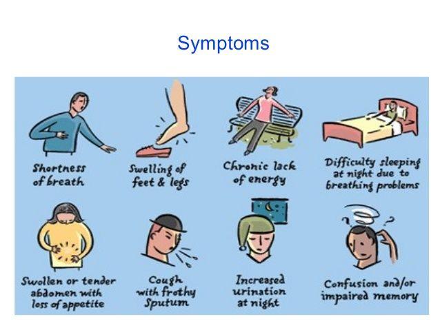 Congestive #heart disease signs and #symptoms | Shushrusha