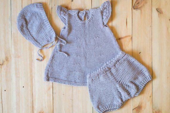 e5c4e31d1f65 Hand knit baby set