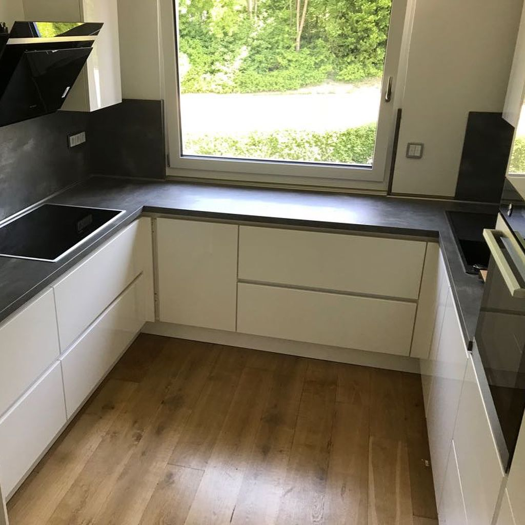 Bild könnte enthalten: Innenbereich  Küche planen, Küchen shaker