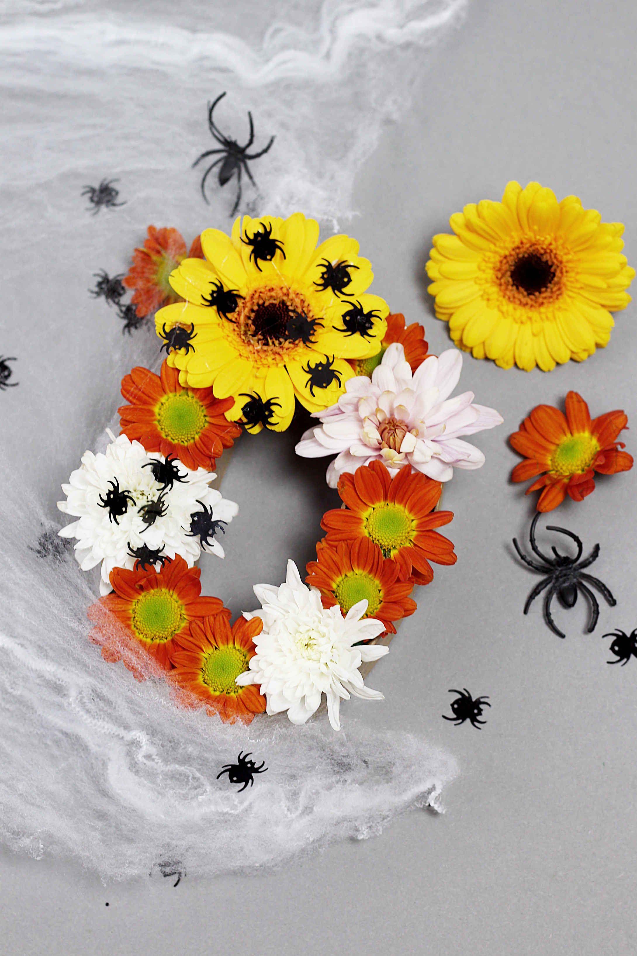 Diy Halloween Deko Basteln Mit Blumen Kreative Diy Ideen Halloween Deko Basteln Halloweendeko Halloween Deko
