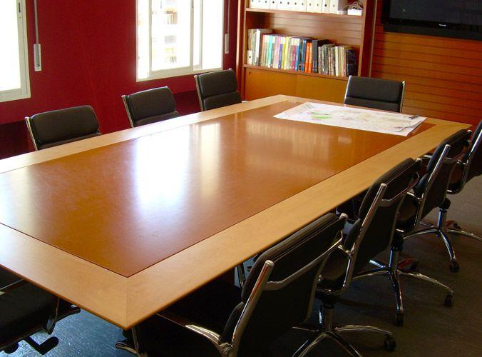 Mesa para sala de reuniones | oficinas | Pinterest | Mesas para sala ...