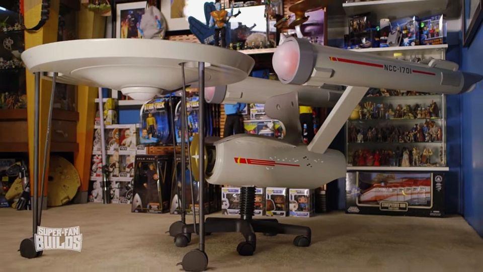 Star Trek Enterprise Home Office