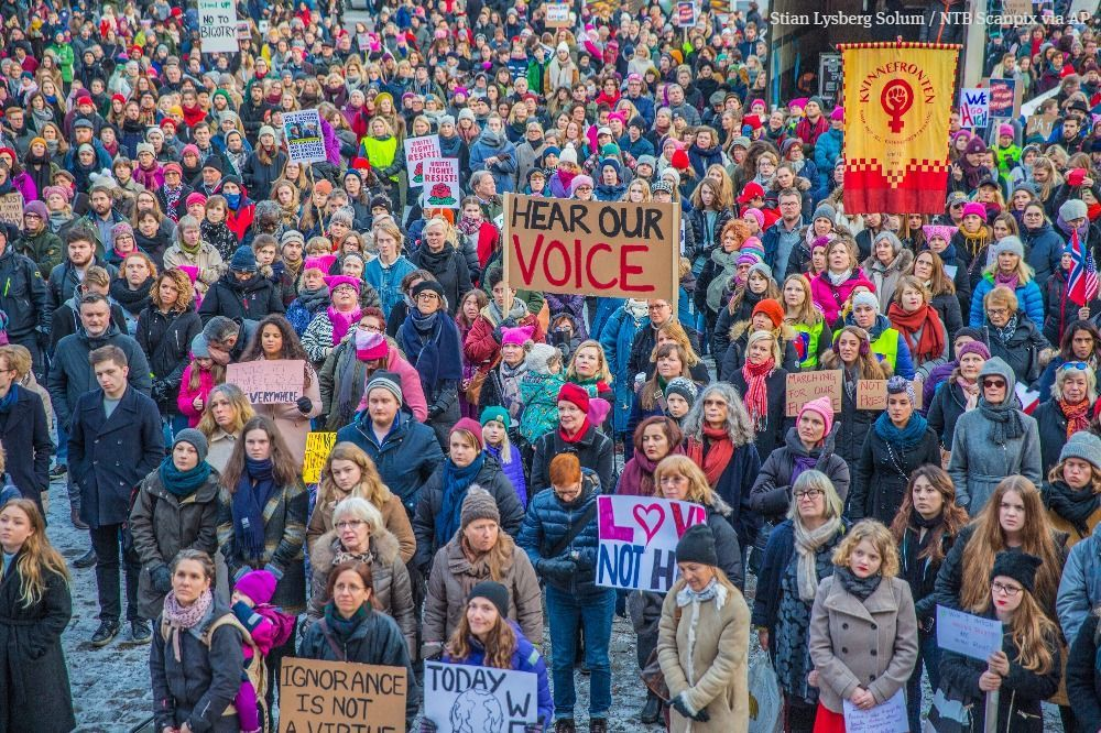 The Seattle Times On Twitter Womens March Womens March 2017 Faith In Humanity Restored