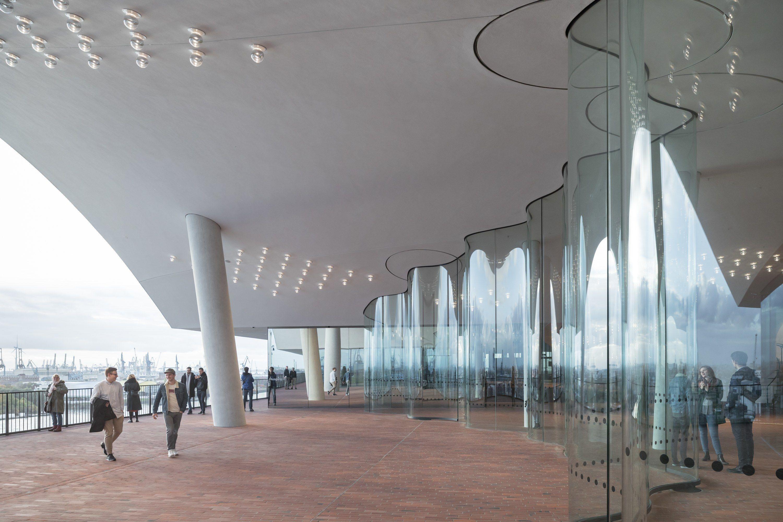 What Happens When Algorithms Design A Concert Hall The Stunning Elbphilharmonie Herzog And De Meuron S Elbphilharmonie Hamburg Architecture Algorithm Design