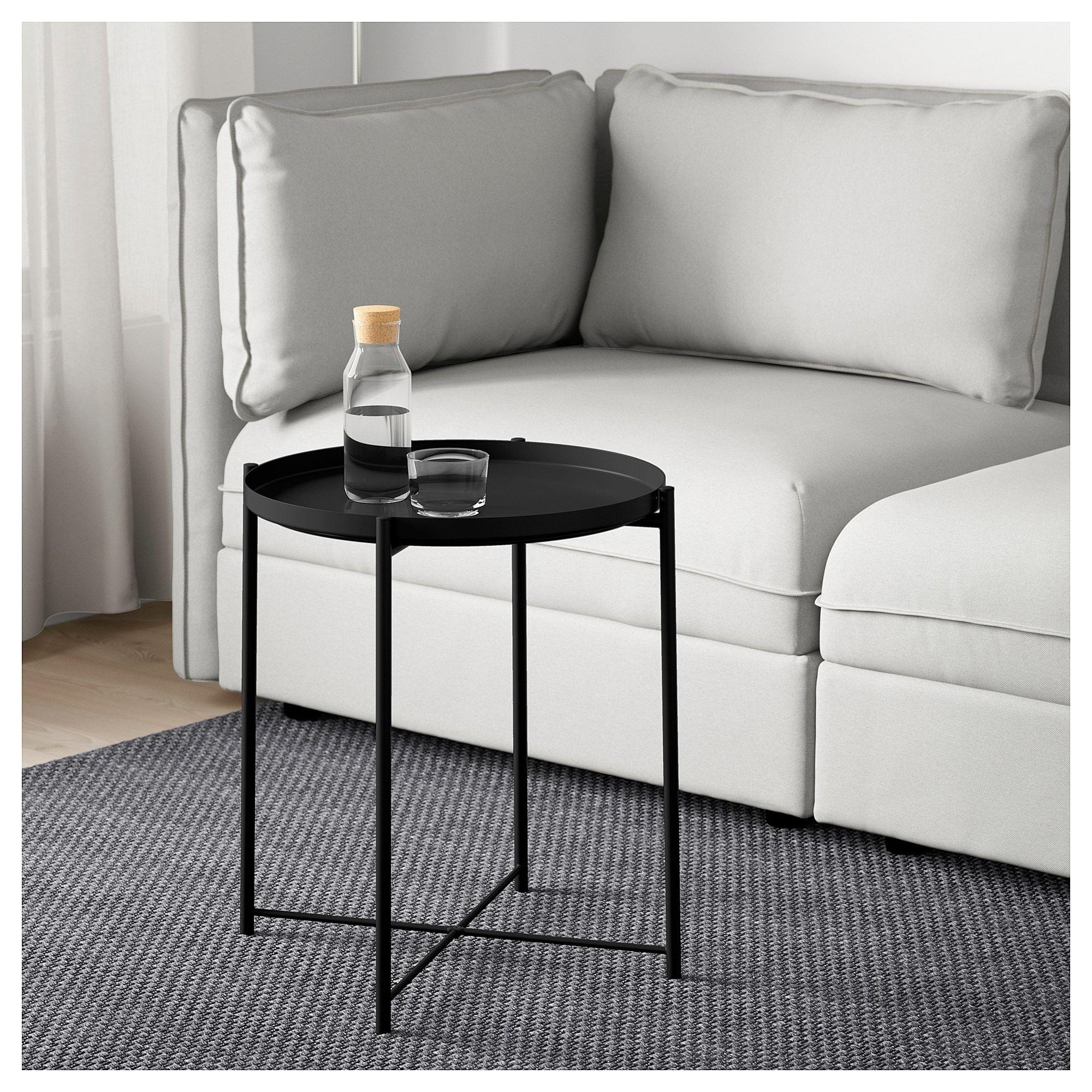 Gladom Tray Table Black 17 1 2x20 5 8 Ikea Tray Table Coffee Table Ikea Side Table [ 2000 x 2000 Pixel ]