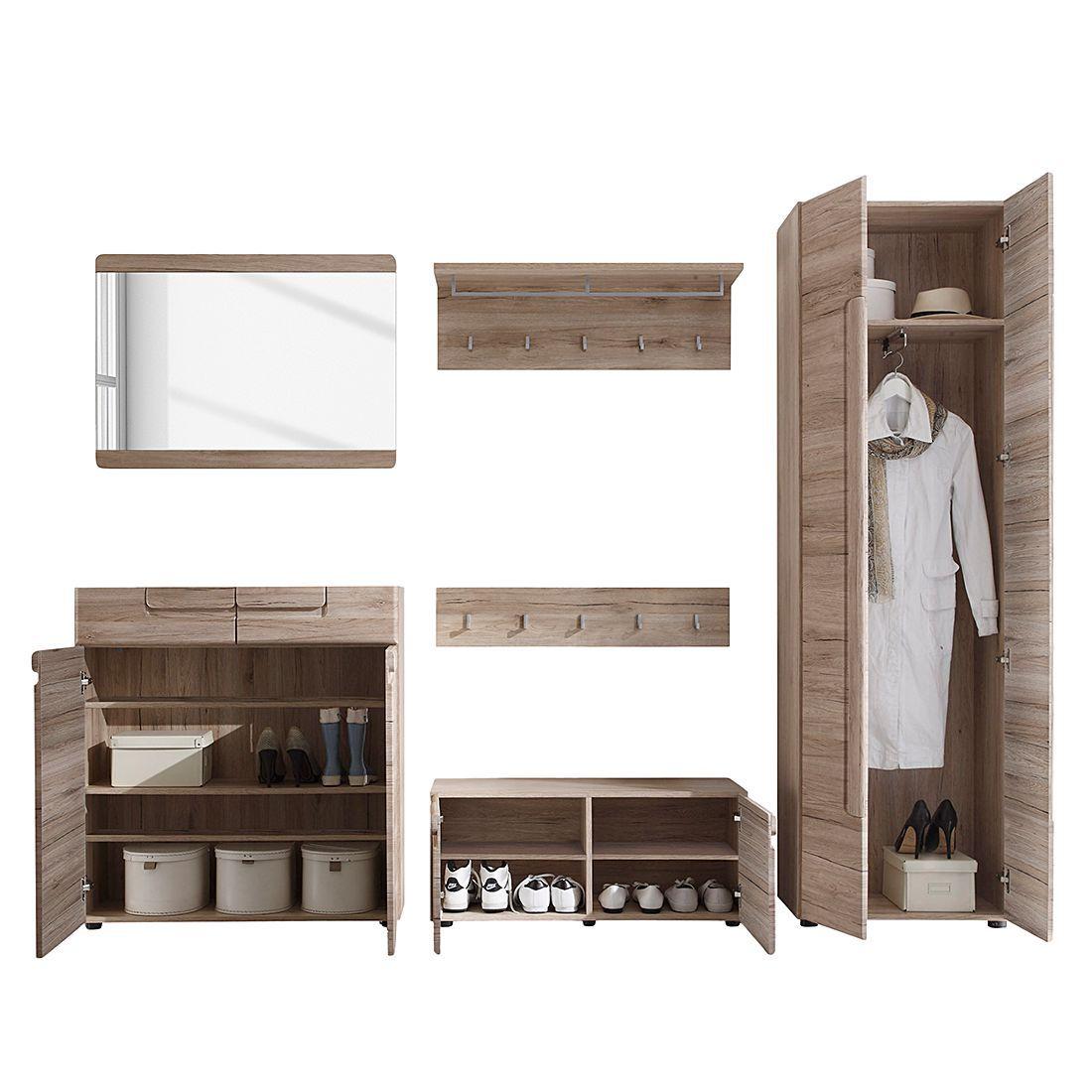 Garderobenset Giba 6 Teilig Products Garderoben Set