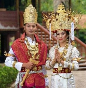 Beautiful Lampung Traditional Clothes  Lampung, Indonesia, SouthEast Asia, Culture