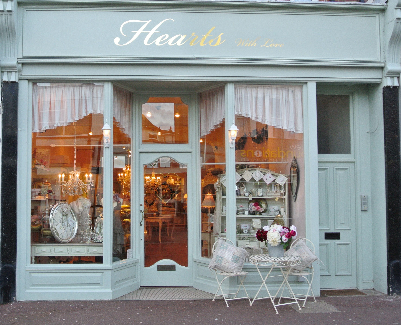 hearts great storefronts in 2019 shop fronts shop. Black Bedroom Furniture Sets. Home Design Ideas