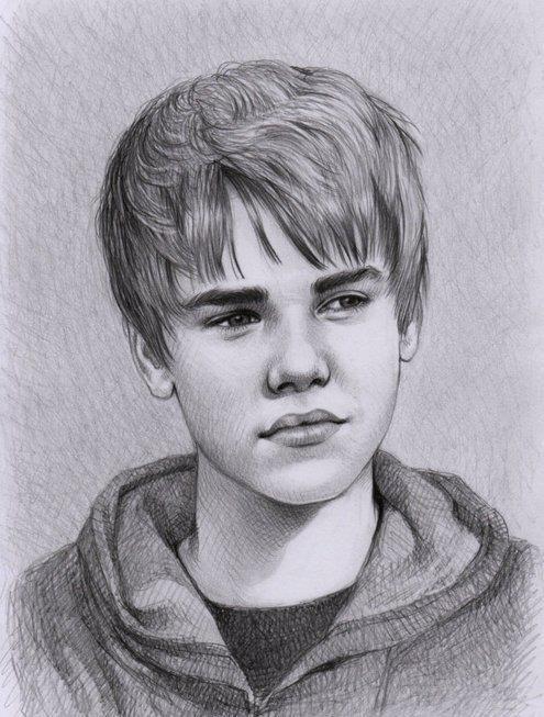 Justin Bieber Justin Bieber Sketch Justin Bieber Celebrity Drawings