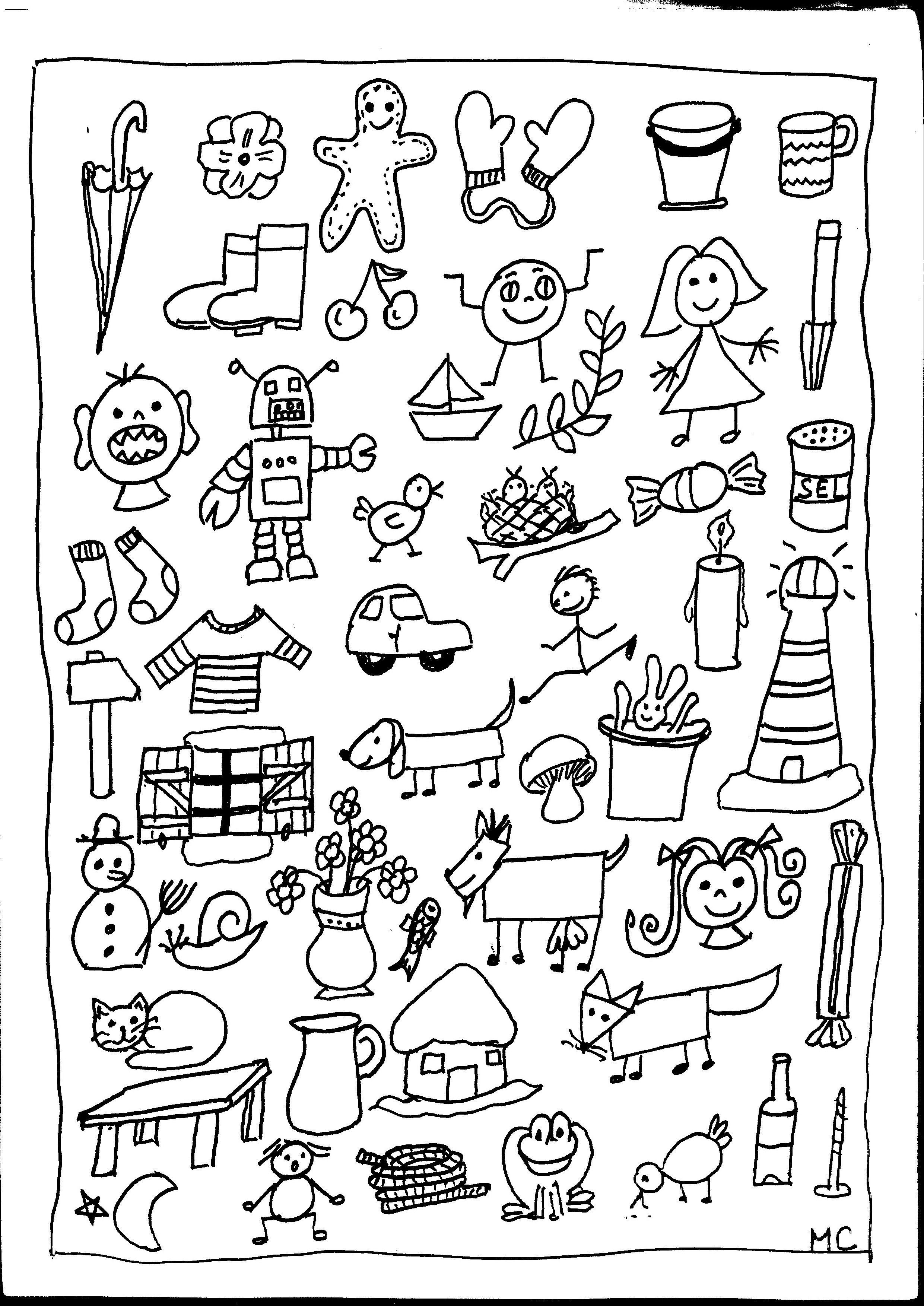 cherche et trouve la maternelle de Camille Lire les couleurs lamaternelledecamille OK