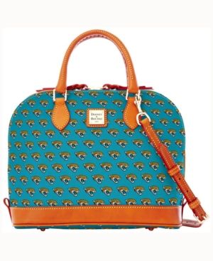 Dooney & Bourke Jacksonville Jaguars Dooney & Bourke Zip Zip Satchel - Blue