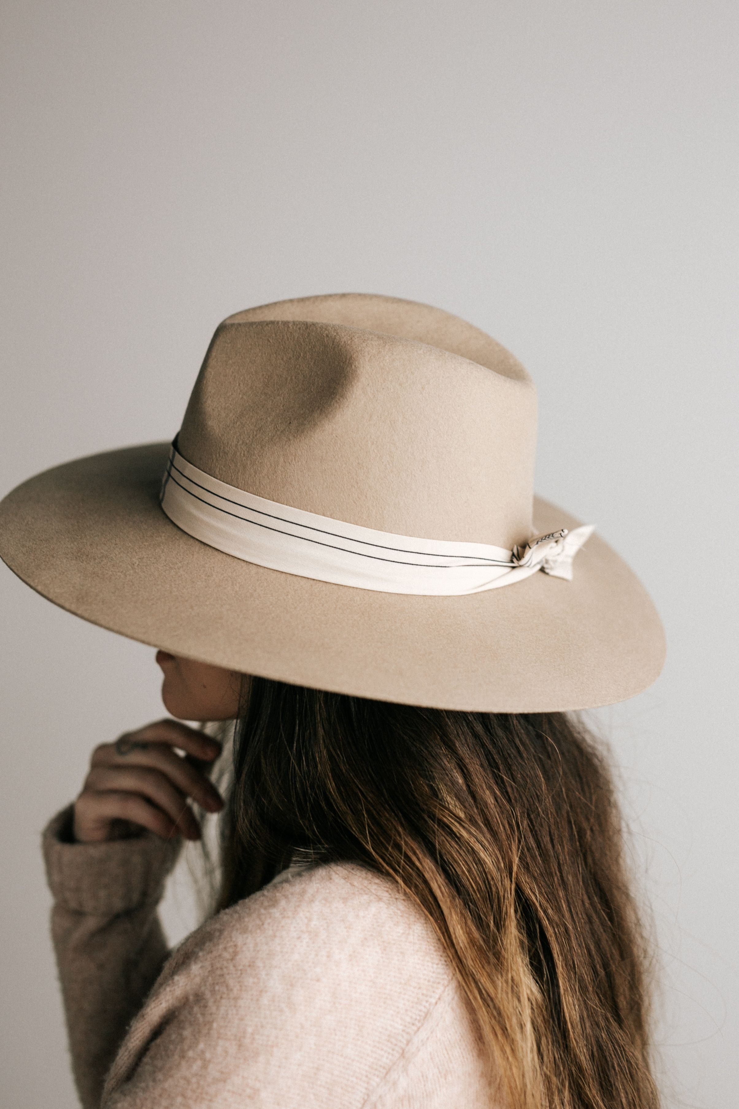 Emma Wide Brim Fedora Wide Brim Felt Hat Outfits With Hats Hats For Women