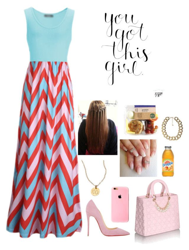"""""""🐠"""" by nun-for-free ❤ liked on Polyvore featuring Christian Louboutin and Miriam Merenfeld"""