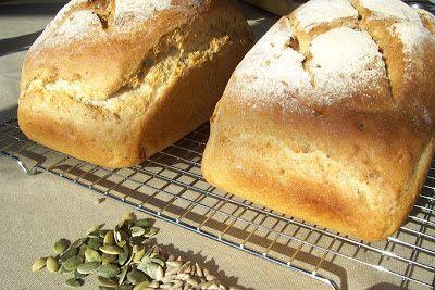 creaymme: Brood met zonnebloem- en pompoenpitten