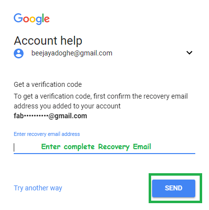 Contact For Recover Or Reset Google Account Password Help Via Of