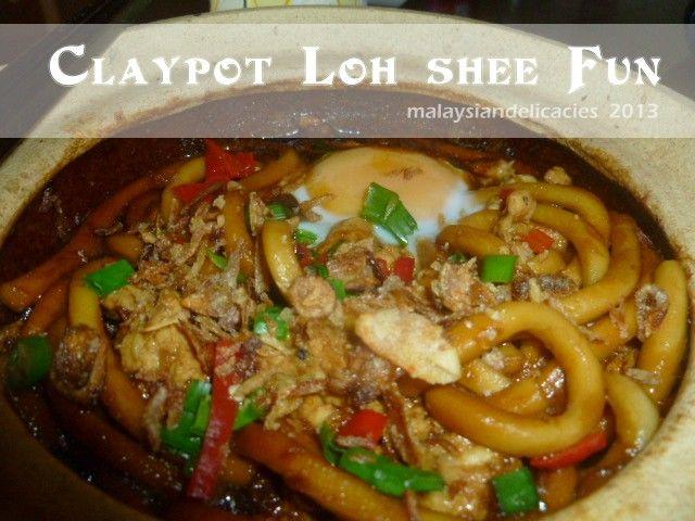 Malaysian Delicacies: Claypot Loh Shee Fun