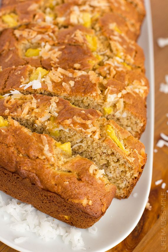 Tropical Banana Bread Life Made Simple Recipe Banana Bread Banana Bread Recipes Bread