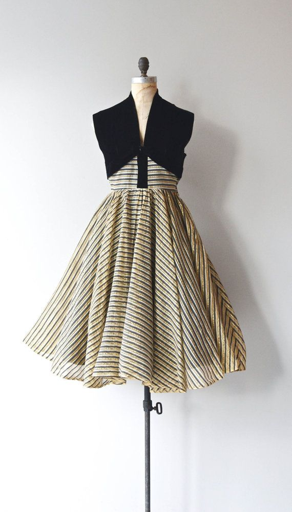 Claudia Young party dress • vintage 1950s dress • 50s dress ... 2abe08f12d4