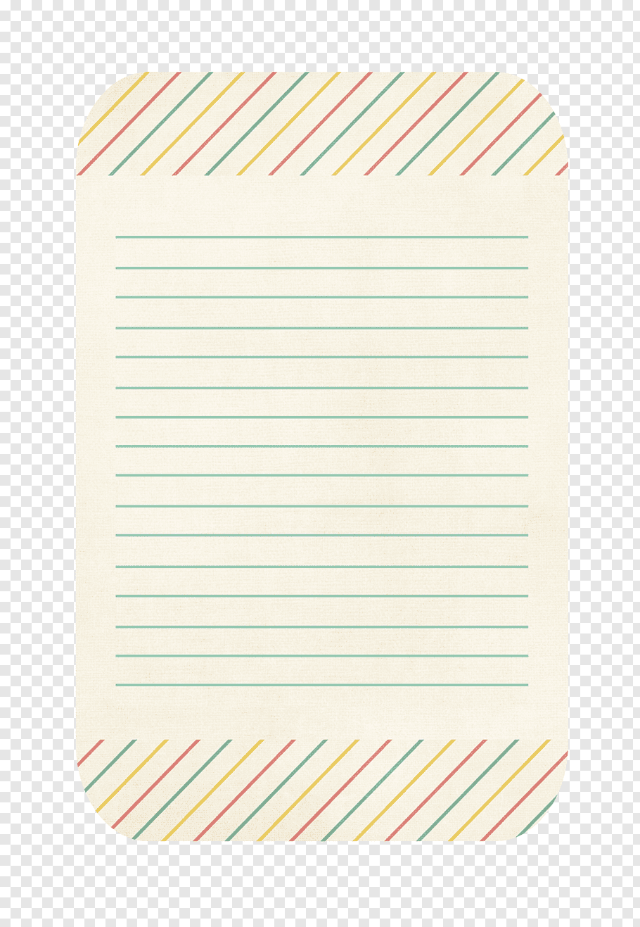 Candy Girl Journal Cards Green Lined Paper Png Journal Cards Lined Paper Paper Illustration