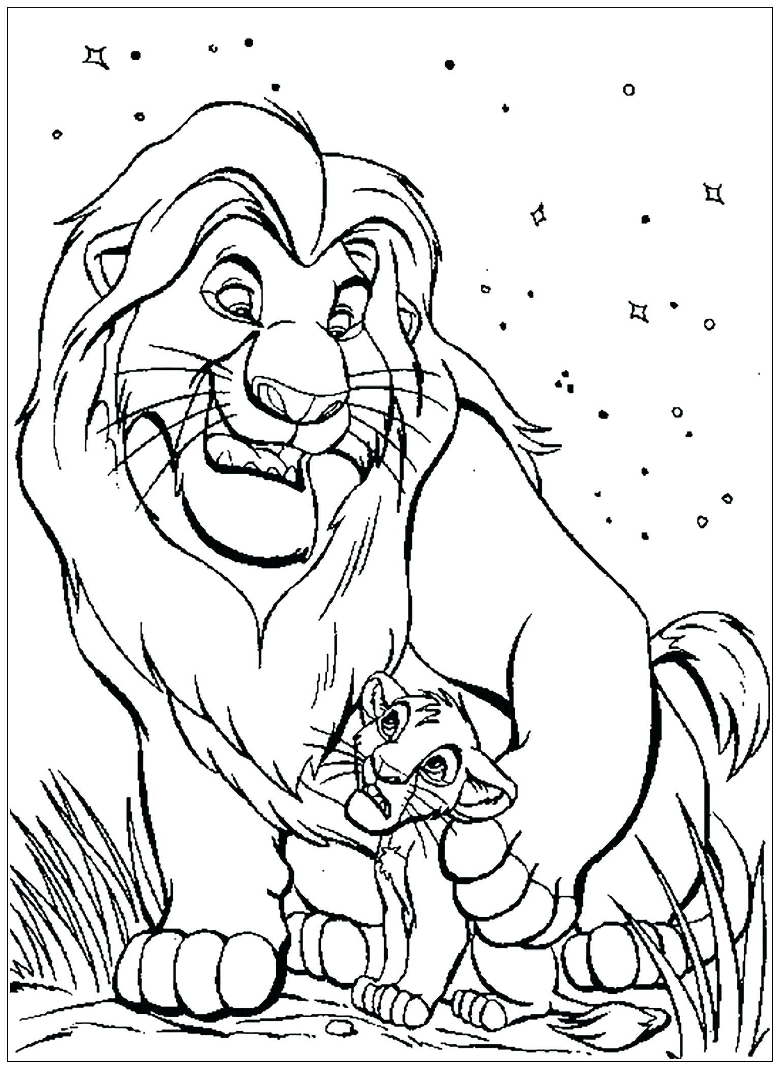 Lion Coloring Page Free Youngandtae Com Animal Coloring Pages King Coloring Book Lion Coloring Pages