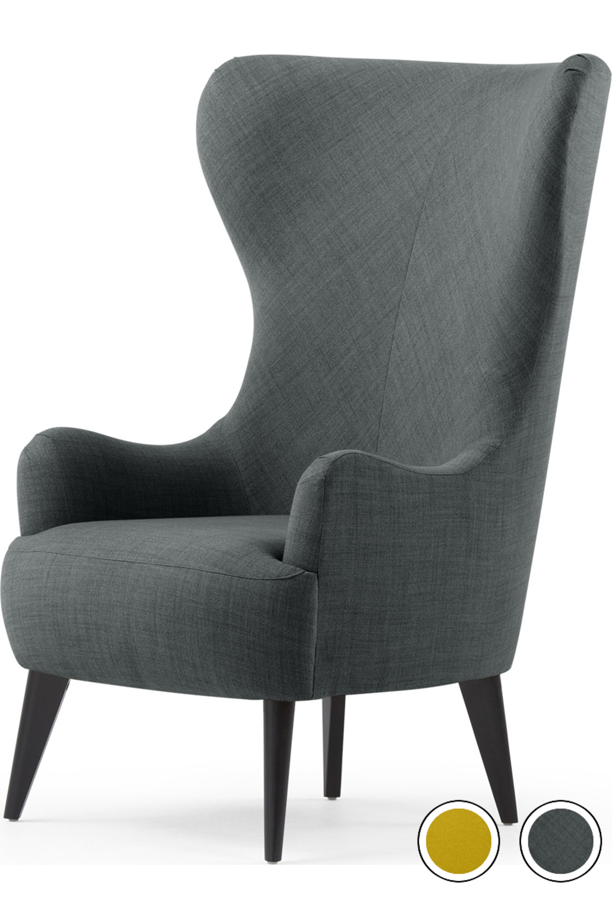 MADE Chair/ Smart Grey. Express delivery. Wool. Bodil ...